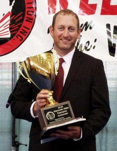 Gavin earns state auctioneer title