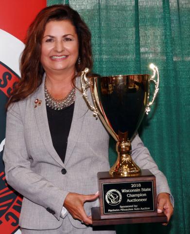 Antigo, Auctioneer wins State Auctioneer Championship
