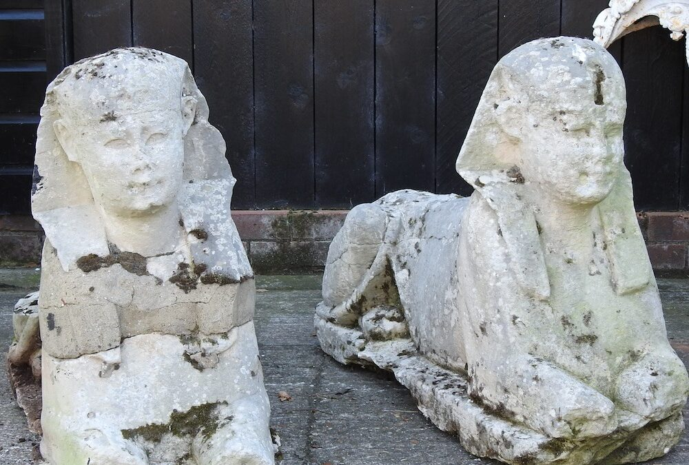 These Sphinx Patio Ornaments Were Offered for $700 at an English Auction House. Turns Out They're Ancient—and Sold for $265,000