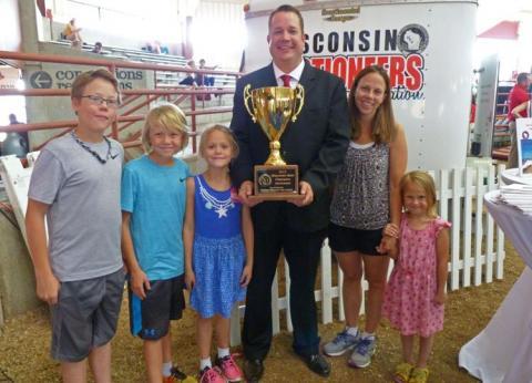 Allen tops state fair auctioneer contest
