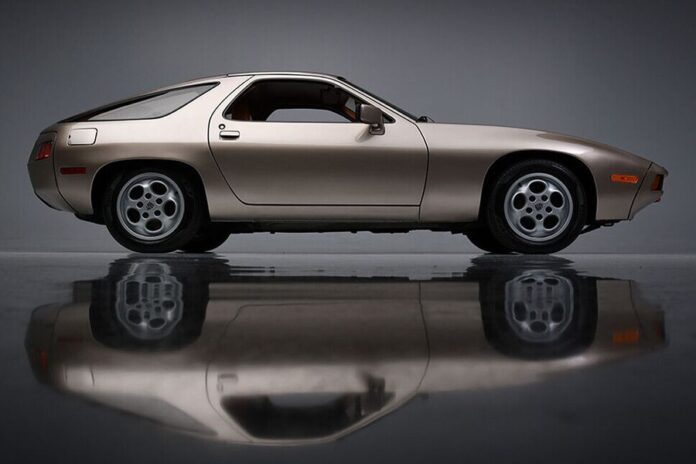 Tom Cruise's Porsche 928 in 'Risky Business' becomes the most expensive ever auctioned