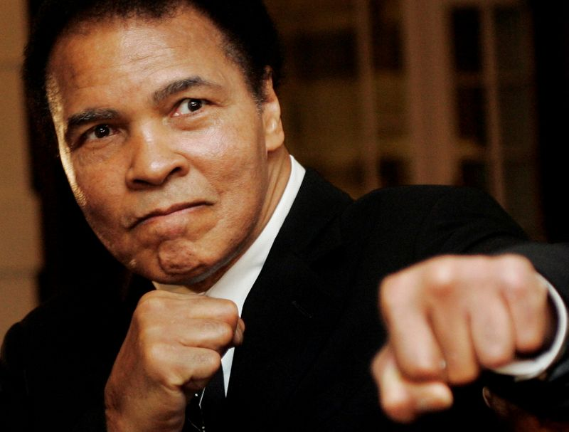 Muhammad Ali sketches fetch knockout prices at NY auction