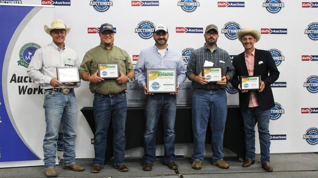 Jason Clark wins 2021 GotoAuction.com Midwest Auctioneer Championship!