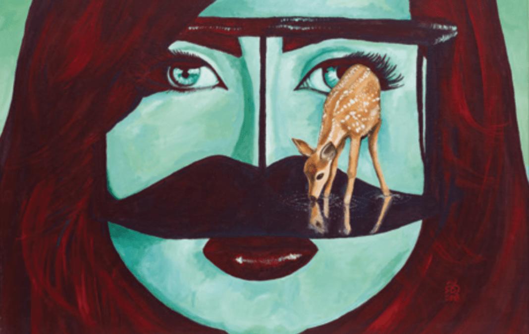 Artwork of late Emirati activist Alaa Al-Siddiq sold at Al Bahie auction
