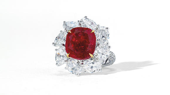 This Rare 'Pigeon's Blood' Ruby Ring Could Reach $4.5 Million at Christie's Magnificent Jewels Auction