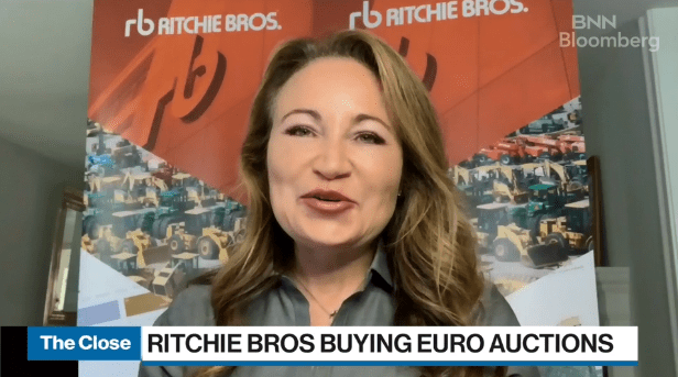 Ritchie Bros. Auctioneers to buy U.S. company SmartEquip for US$175 million